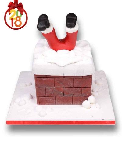 Noel Baba Bacada Yılbaşı Pastası 4