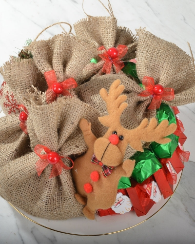 Noel Baba Çanta Yılbaşı Çikolatası 4