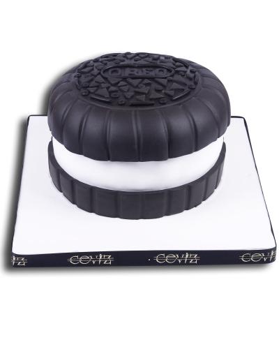 Oreo Doğum Günü Pastası 1