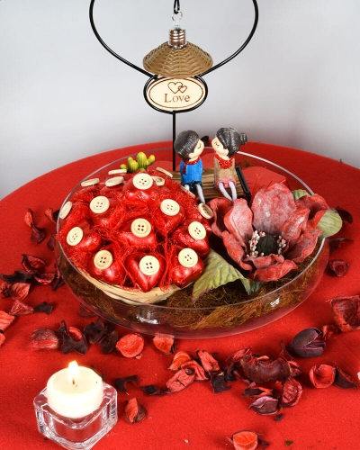 Papatya Sevgiliye Çikolata Kutusu 3