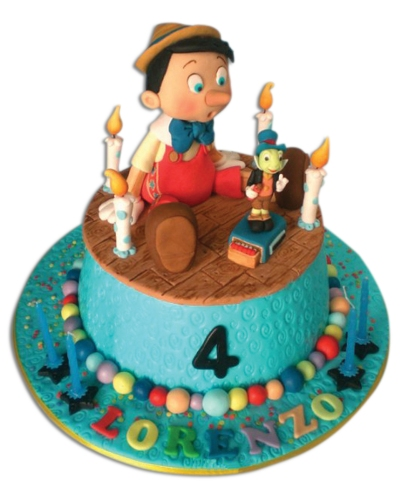 Pinokyo Doğum Günü Pastası 1