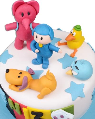 Pocoyo Doğum Günü Pastası 3