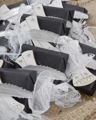 Siyah Beyaz Çikolata Demeti 4