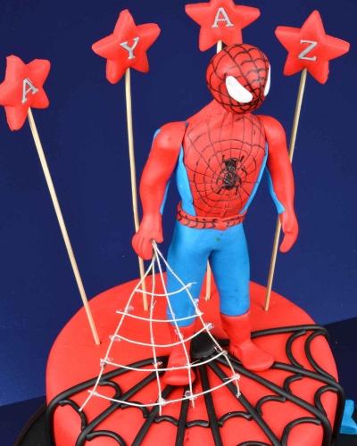 Spiderman 2 Doğum Günü Pastası 2