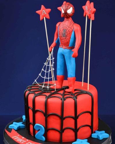 Spiderman 2 Doğum Günü Pastası 3