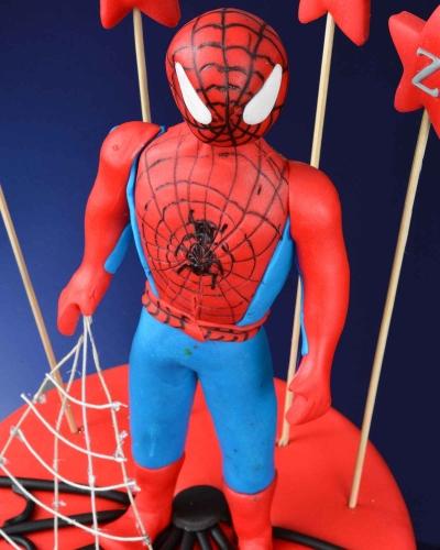 Spiderman 2 Doğum Günü Pastası 4