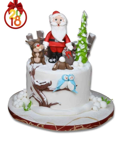Tavşan Yılbaşı Pastası  4