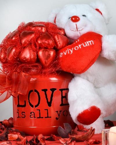 Tek İhtiyacım Aşk Sevgiliye Çikolata 4