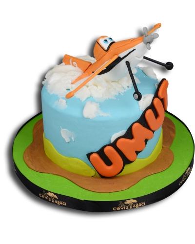 Uçaklar Doğum Günü Pastası 1