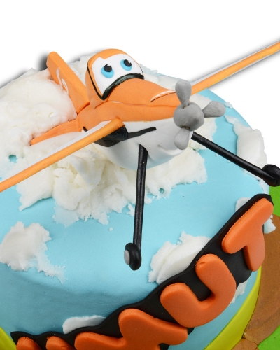 Uçaklar Doğum Günü Pastası 3