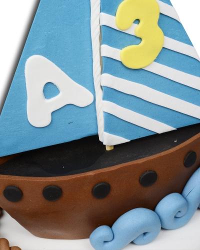 Yelkenli Doğum Günü Pastası 2