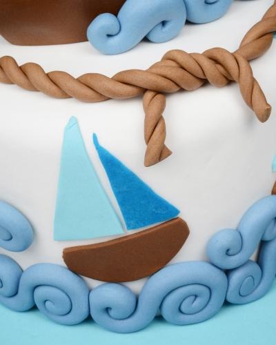 Yelkenli Doğum Günü Pastası 3