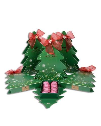 Yeşil Çam Ağacı Yılbaşı Çikolatası 2