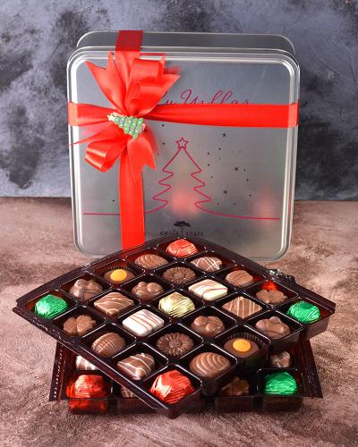 Yılbaşı Özel Tasarım Çikolata Kutusu 3