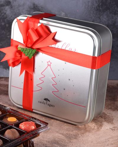 Yılbaşı Özel Tasarım Çikolata Kutusu 4