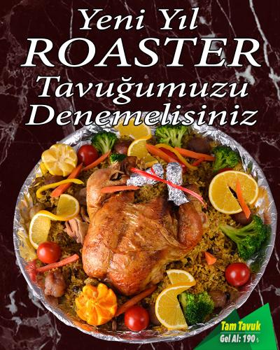 Yılbaşı Roaster Tavuk 1
