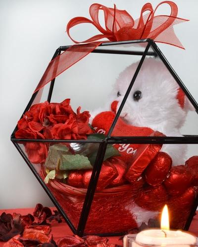 Yıldız Sevgiliye Çikolata Kutusu 2