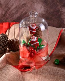 2'li Noel Baba Hediyelik Yılbaşı Çikolatası  0