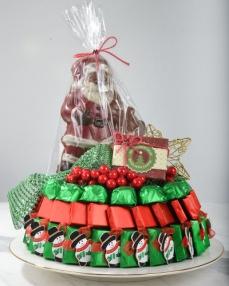4'lü Noel Baba Hediyelik Yılbaşı Çikolatası  0