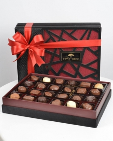 Ahşap Special Çikolata Kutusu  0