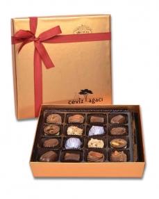Altın 16'lı Bayram Çikolatası  0