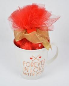Altın Kalpli Sevgililer Günü Hediyesi  0