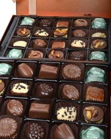 Bakır 40'lı Çikolata Kutusu  1