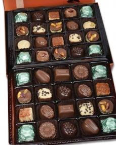 Bakır 40'lı Çikolata Kutusu  2