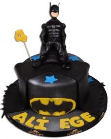 Batman Kara Şovalye Doğum Günü Pastası  0