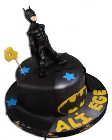 Batman Kara Şovalye Doğum Günü Pastası  1