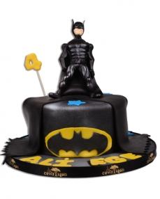Batman Kara Şovalye Doğum Günü Pastası  2