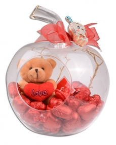 Cam Elma Sevgililer Günü Hediyesi