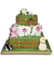 Çiftlik Doğum Günü Pastası