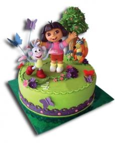 Dora Doğum Günü Pastası  0