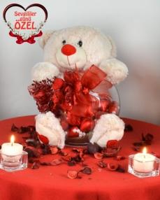 Güllü Ayıcık Sevgililer Günü Hediyesi  0