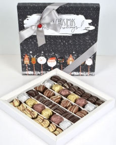 Happy Holidays Büyük Yılbaşı Çikolatası  0