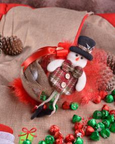 Happy Holidays Küçük Yılbaşı Çikolatası  3