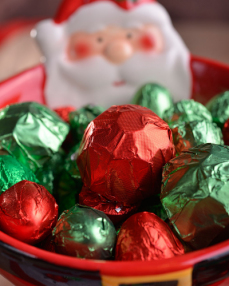 Happy Holidays Yılbaşı Çikolatası  3