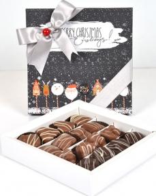 Happy Holidays Orta Yılbaşı Çikolatası  0