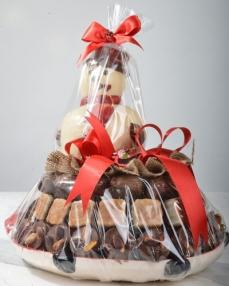 İkiz Noel Baba Yılbaşı Çikolatası  0