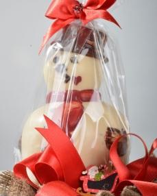 İkiz Noel Baba Yılbaşı Çikolatası  1