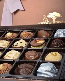 Kahverengi 72'li Çikolata Kutusu  2