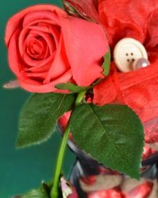 Kalp Vazo Sevgililer Günü Hediyesi