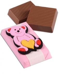 Kalpli Panda Bebek Çikolatası  1