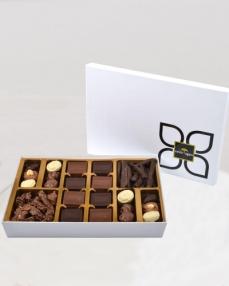 Karnaval Beyaz Çikolata Kutusu  0
