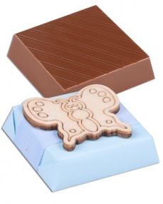 Kelebek Temalı Erkek Bebek Çikolatası  1