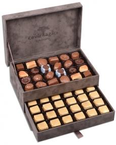 King Special Gri Çikolata Kutusu  0