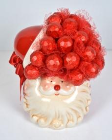 Kırmızı Kapaklı Yılbaşı Çikolatası  0