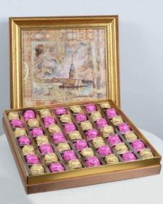 Kız Kulesi 49'lu Çikolata Kutusu  0