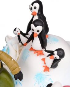 Kutuplar Doğum Günü Pastası